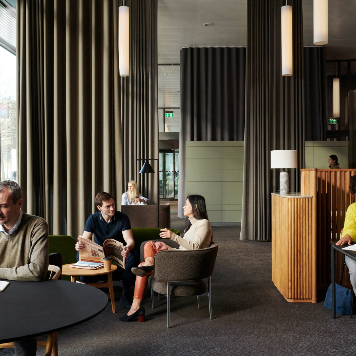 HUB3 lounge og restaurant
